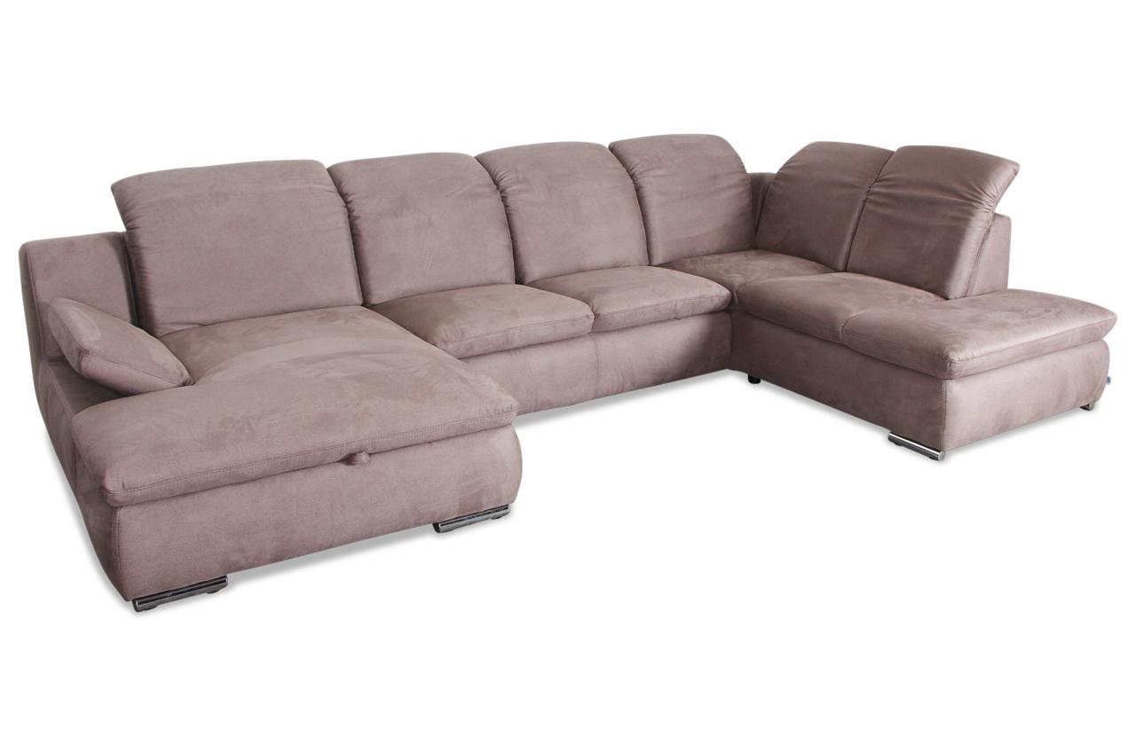 wohnlandschaft grau mit federkern sofas zum halben preis. Black Bedroom Furniture Sets. Home Design Ideas