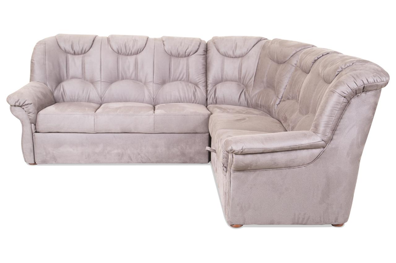 Rundecke Linus Mit Schlaffunktion Braun Sofa Couch Ecksofa Ebay