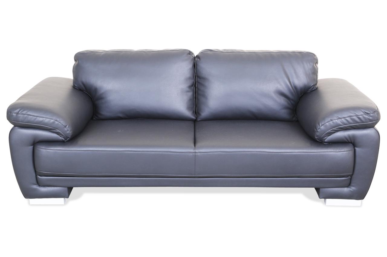 3er Sofa Nele Schwarz Sofa Couch Ecksofa Ebay