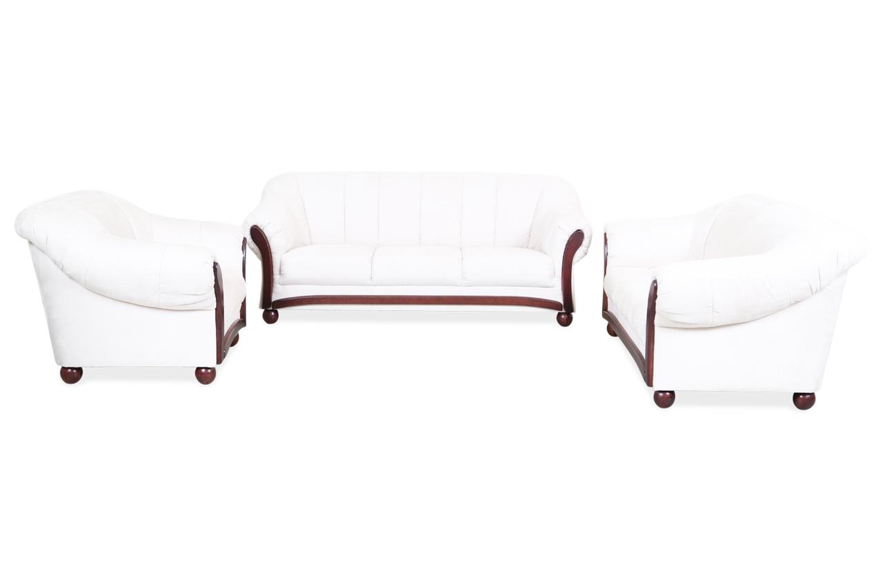 garnitur 3 2 1 wera creme sofas zum halben preis. Black Bedroom Furniture Sets. Home Design Ideas