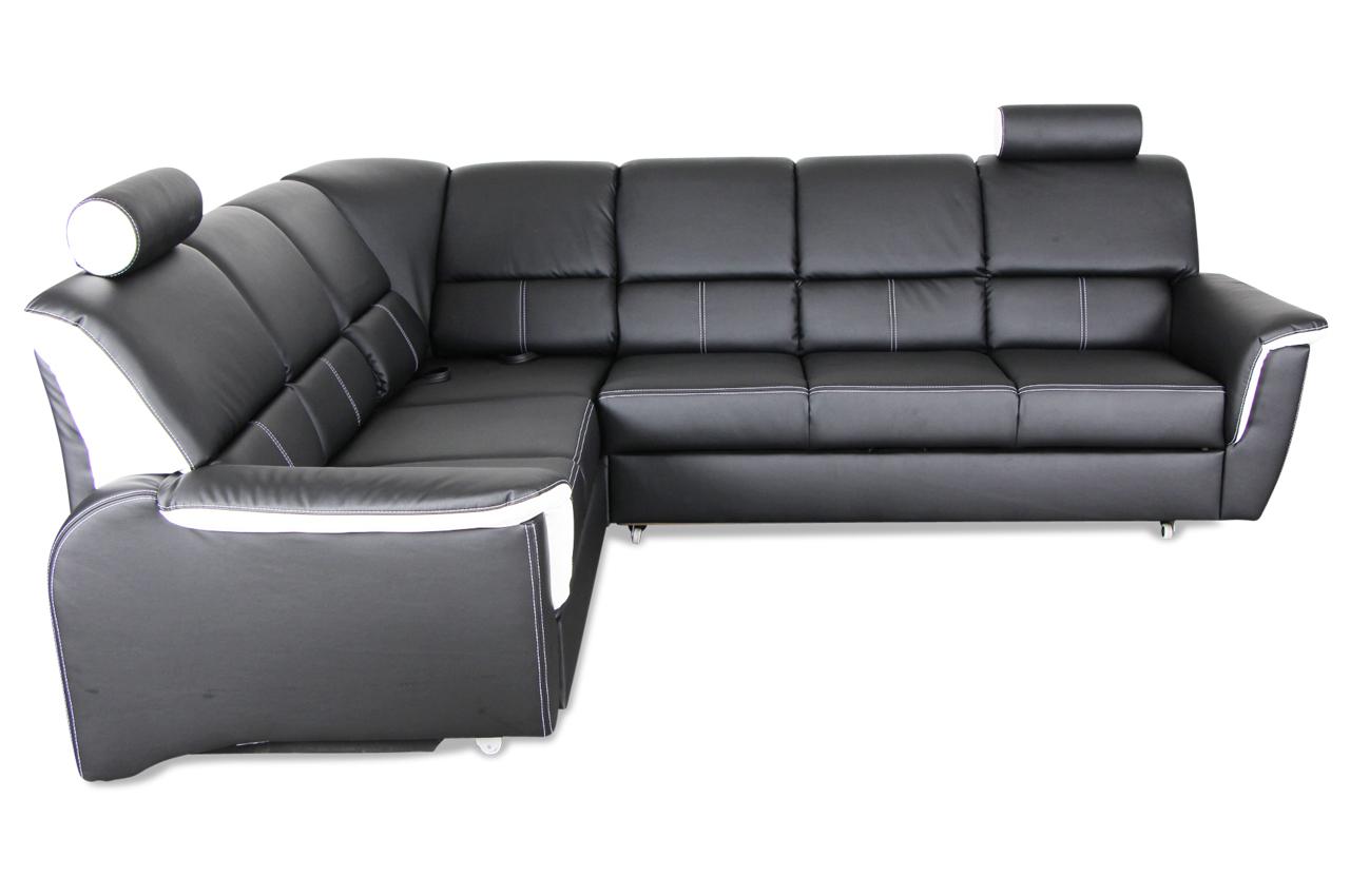 rundecke salone mit schlaffunktion schwarz sofas zum halben preis. Black Bedroom Furniture Sets. Home Design Ideas