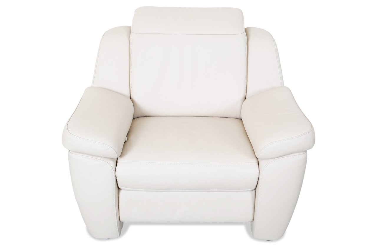 leder fernsehsessel mit sitzverstellung creme sofas zum halben preis. Black Bedroom Furniture Sets. Home Design Ideas