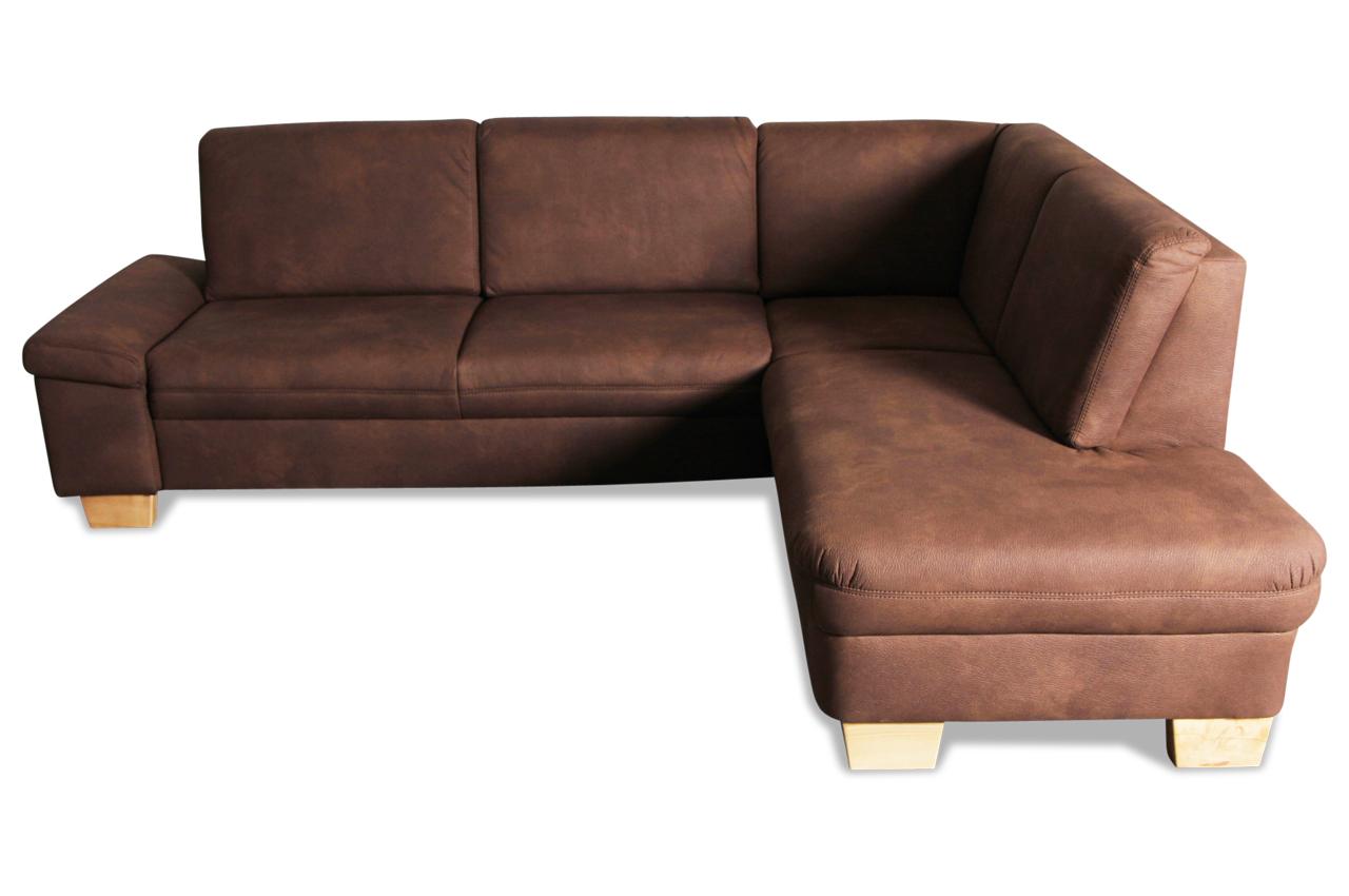 ada alina ecksofa xl 7411 braun sofas zum halben preis. Black Bedroom Furniture Sets. Home Design Ideas