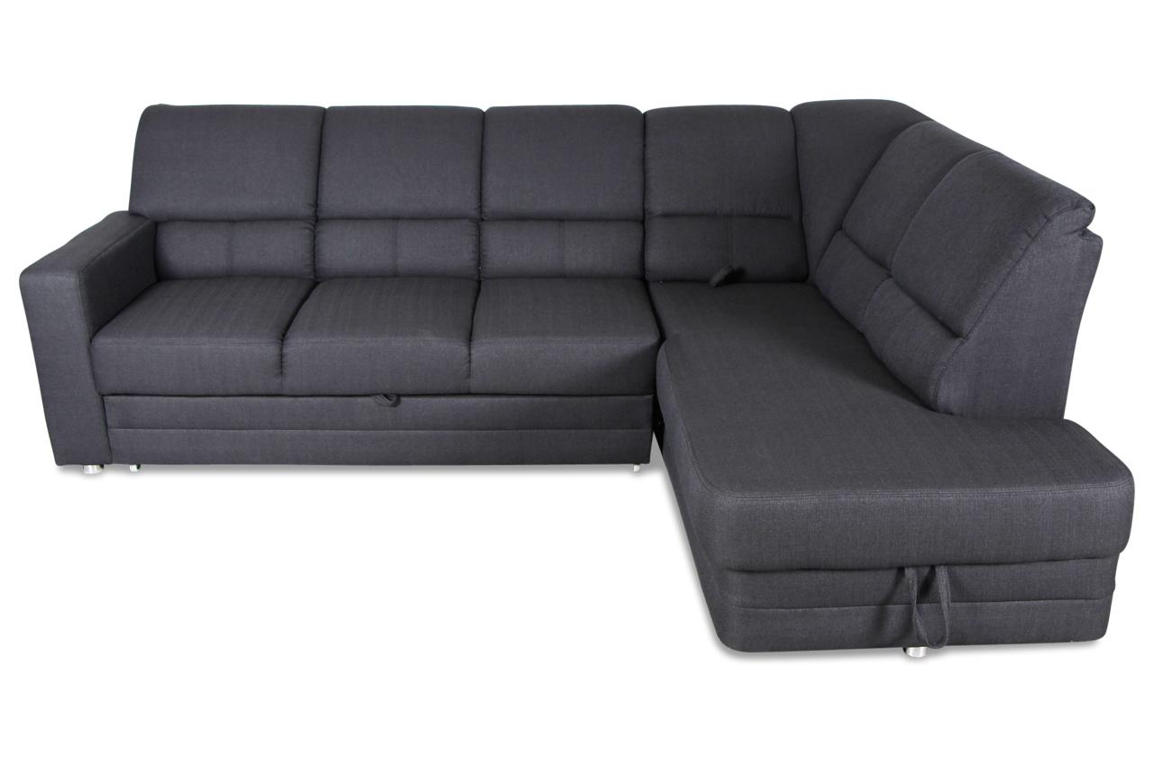ecksofa xl saba mit relax und schlaffunktion anthrazit sofas zum halben preis. Black Bedroom Furniture Sets. Home Design Ideas