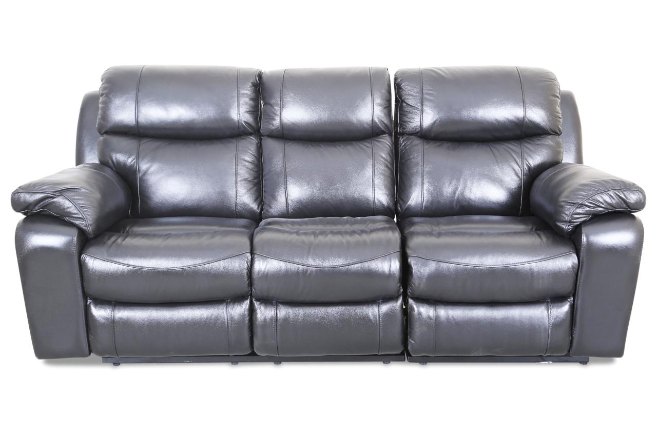 leder 3er sofa mit relax schwarz sofas zum halben preis. Black Bedroom Furniture Sets. Home Design Ideas