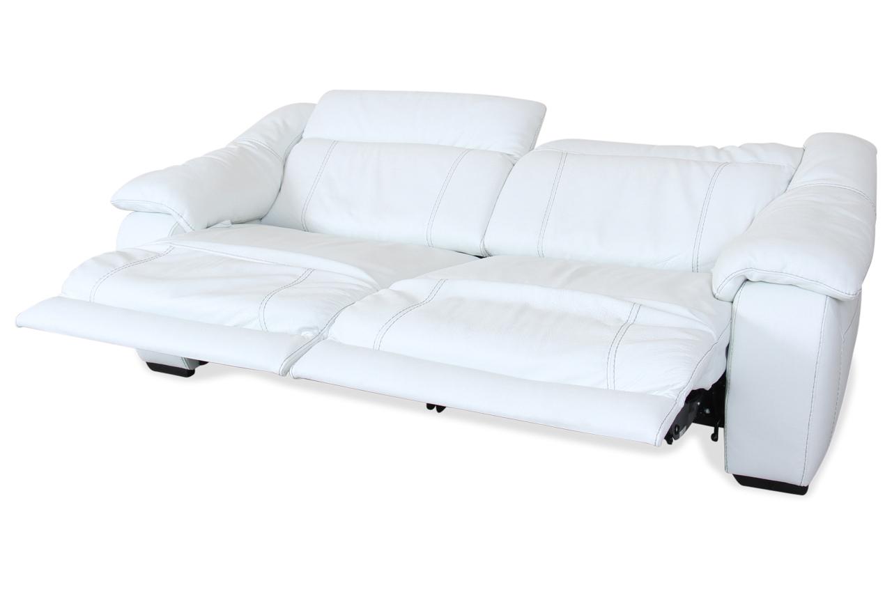 editions leder bigsofa u076 mit sitzverstellung weiss mit federkern sofas zum halben preis. Black Bedroom Furniture Sets. Home Design Ideas