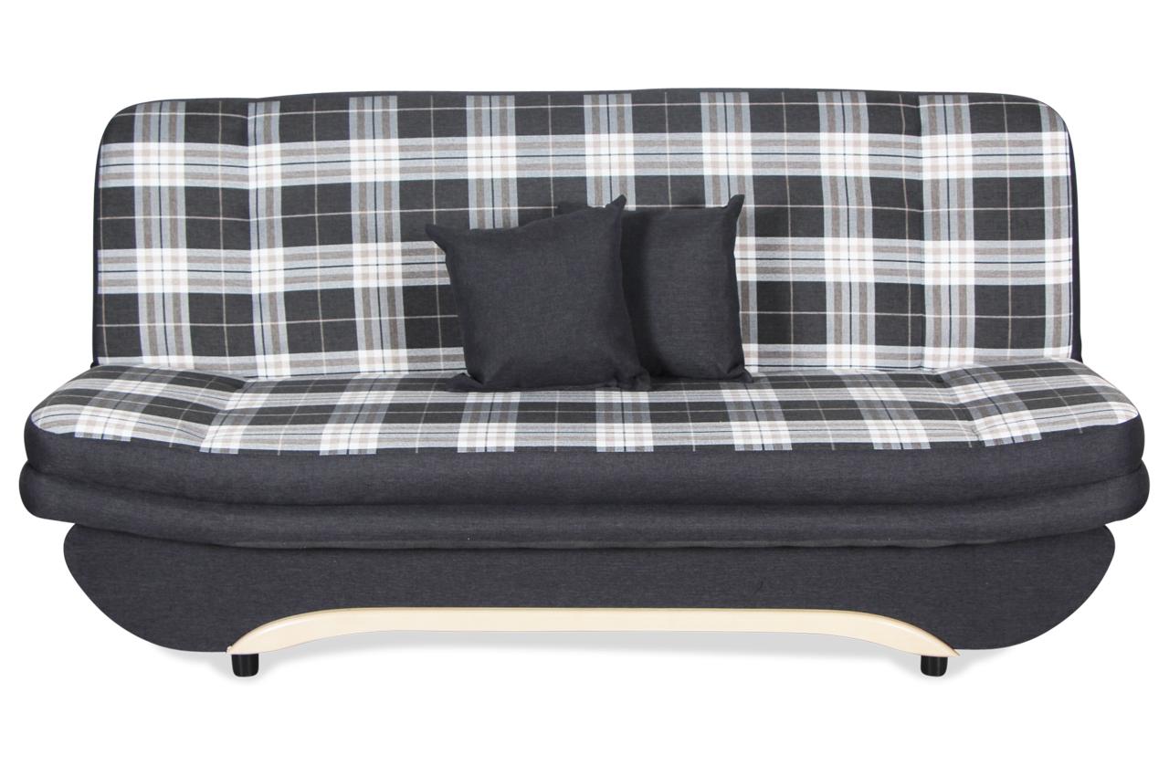 3er sofa ponton mit sitzverstellung und schlaffunktion anthrazit sofas zum halben preis. Black Bedroom Furniture Sets. Home Design Ideas