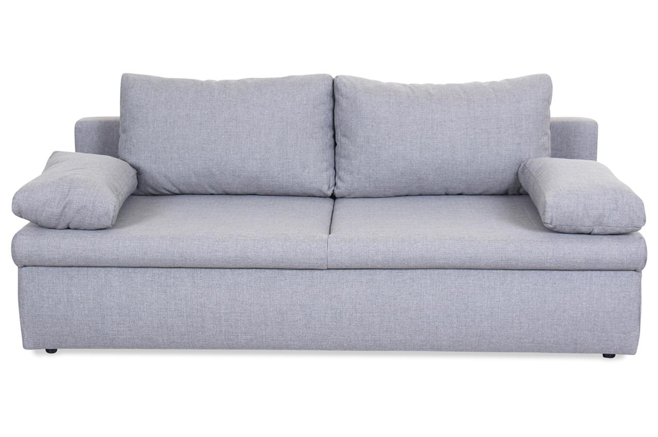 Castello 3er sofa brest mit schlaffunktion braun sofas zum halben preis 3er sofa mit schlaffunktion