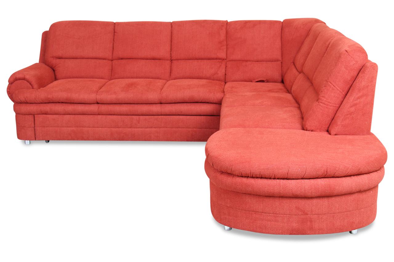 rundecke canedo mit relax und schlaffunktion orange sofas zum halben preis. Black Bedroom Furniture Sets. Home Design Ideas