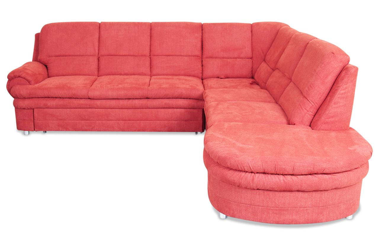 rundecke canedo mit relax und schlaffunktion orange. Black Bedroom Furniture Sets. Home Design Ideas