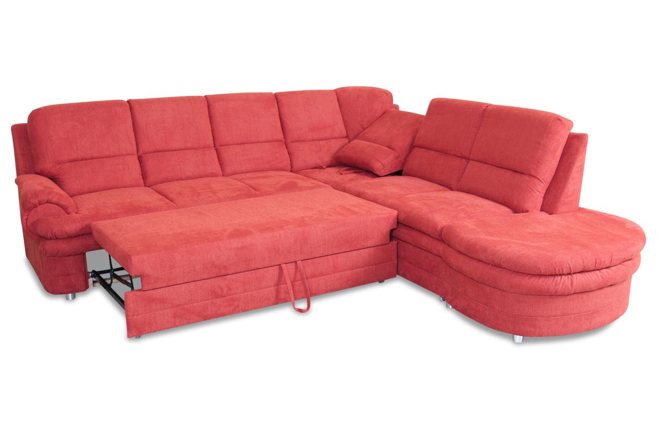 ecksofa mit schlaffunktion orange. Black Bedroom Furniture Sets. Home Design Ideas