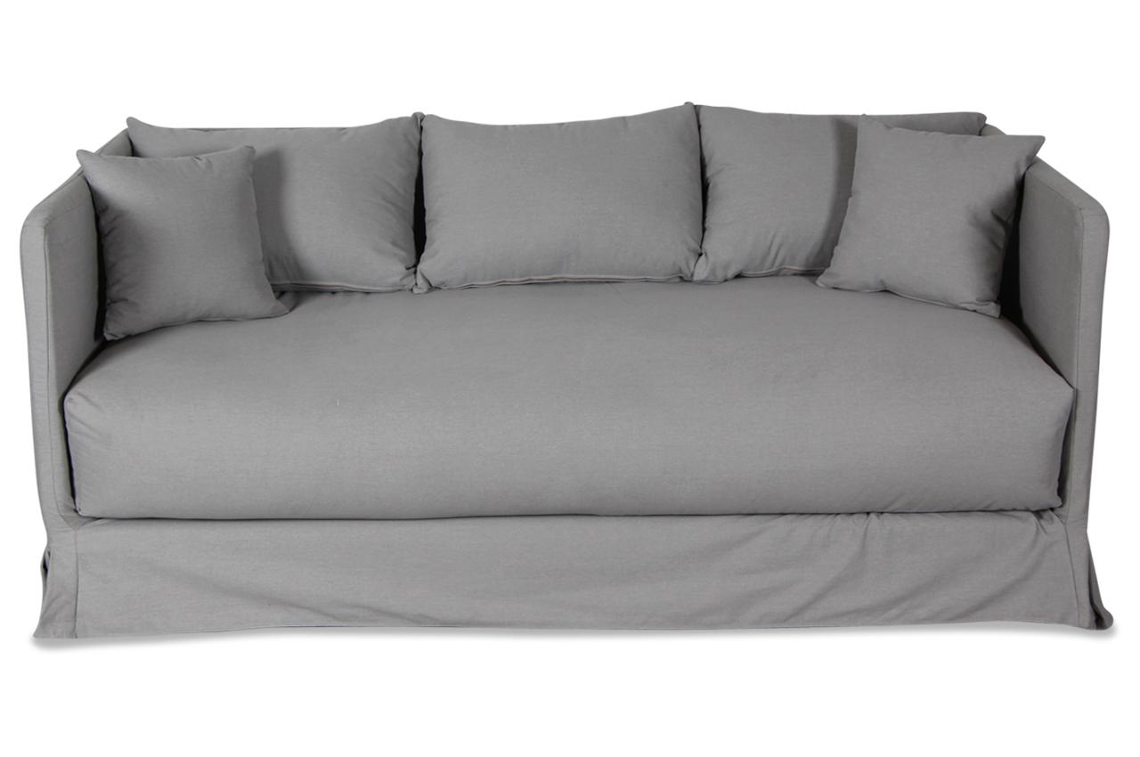 Stolmar 3er sofa tobias anthrazit sofas zum halben preis for Sofa anthrazit