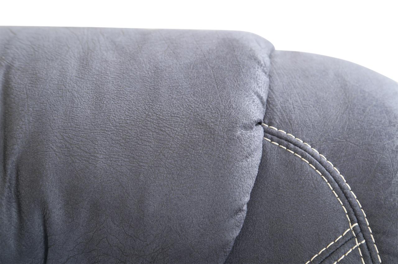 rundecke linus mit schlaffunktion anthrazit sofa couch ecksofa ebay. Black Bedroom Furniture Sets. Home Design Ideas