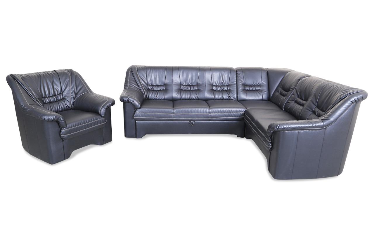 rundecke lagos mit sessel mit relax und schlaffunktion schwarz sofas zum halben preis. Black Bedroom Furniture Sets. Home Design Ideas