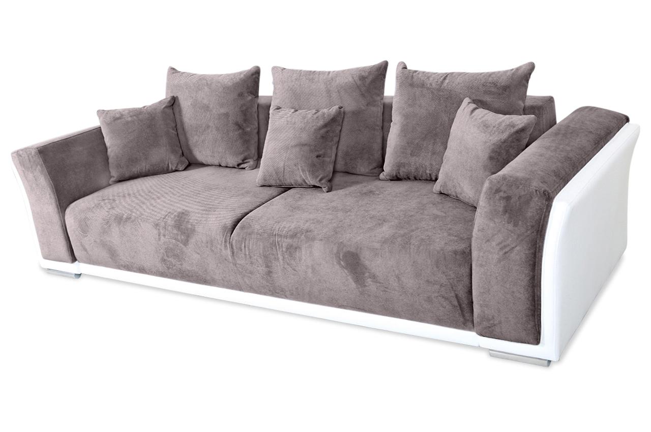 3er Sofa Venecia Mit Schlaffunktion Braun Sofa Couch Ecksofa Ebay