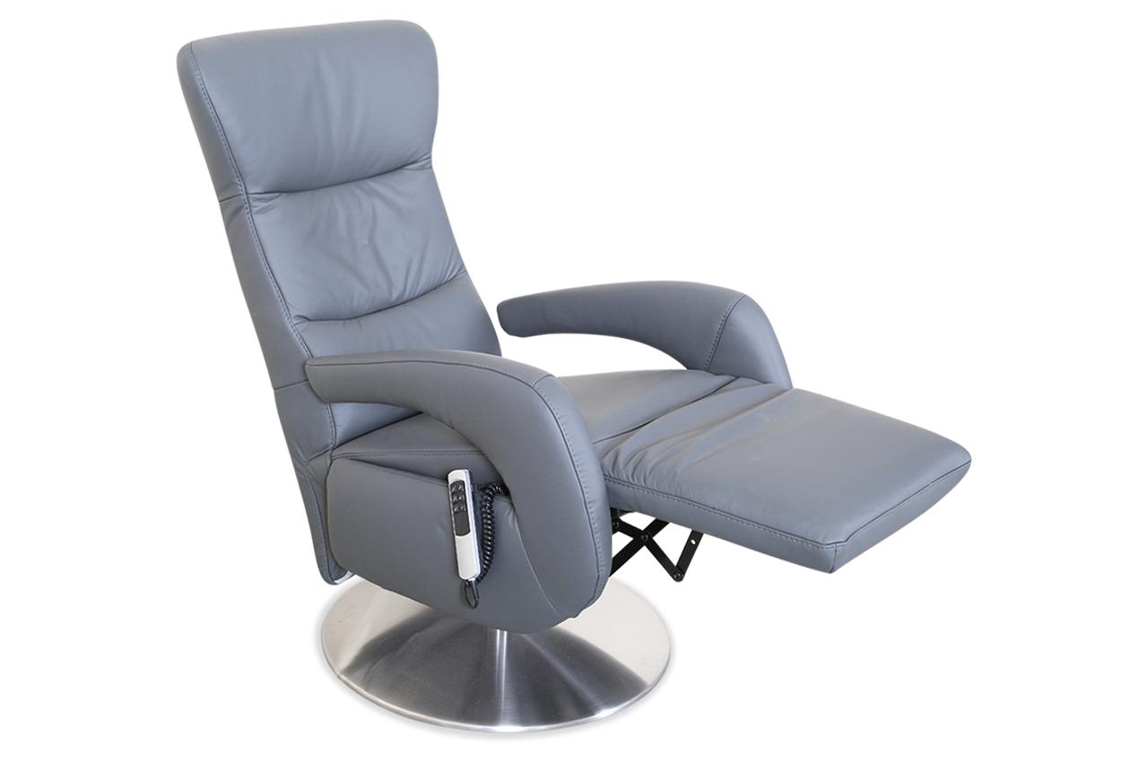 leder fernsehsessel grau mit federkern sofas zum halben preis. Black Bedroom Furniture Sets. Home Design Ideas
