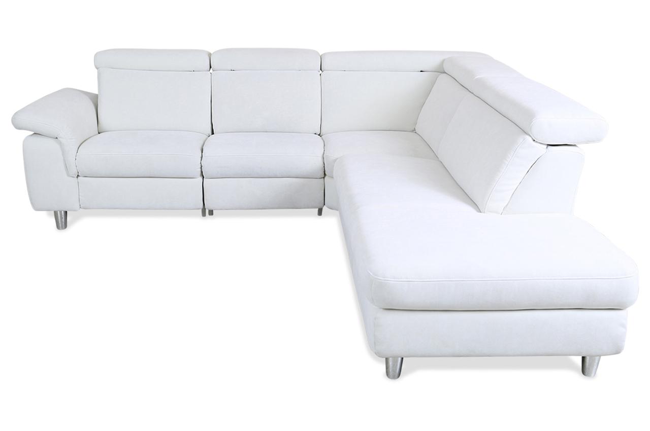 rundecke mit relax weiss mit federkern sofas zum halben preis. Black Bedroom Furniture Sets. Home Design Ideas