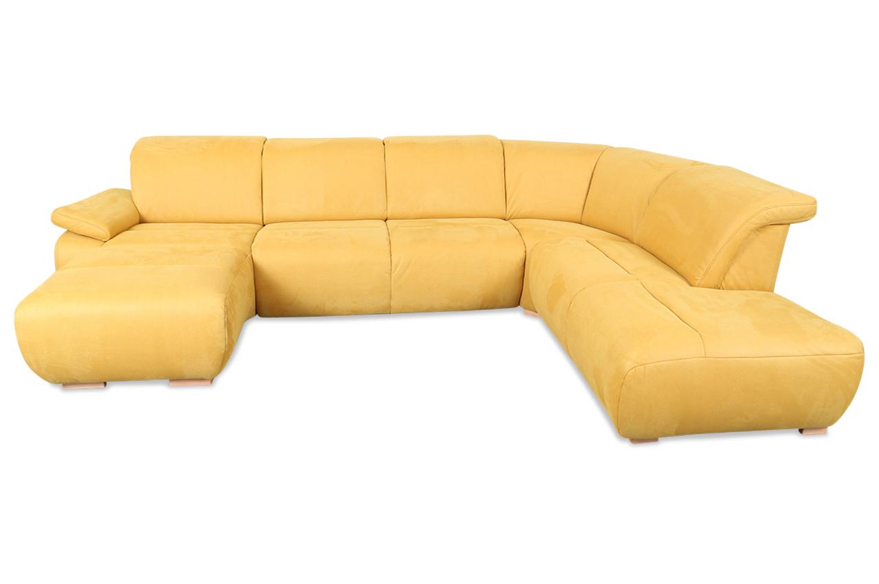 Wohnlandschaft gelb sofas zum halben preis for Wohnlandschaft gelb