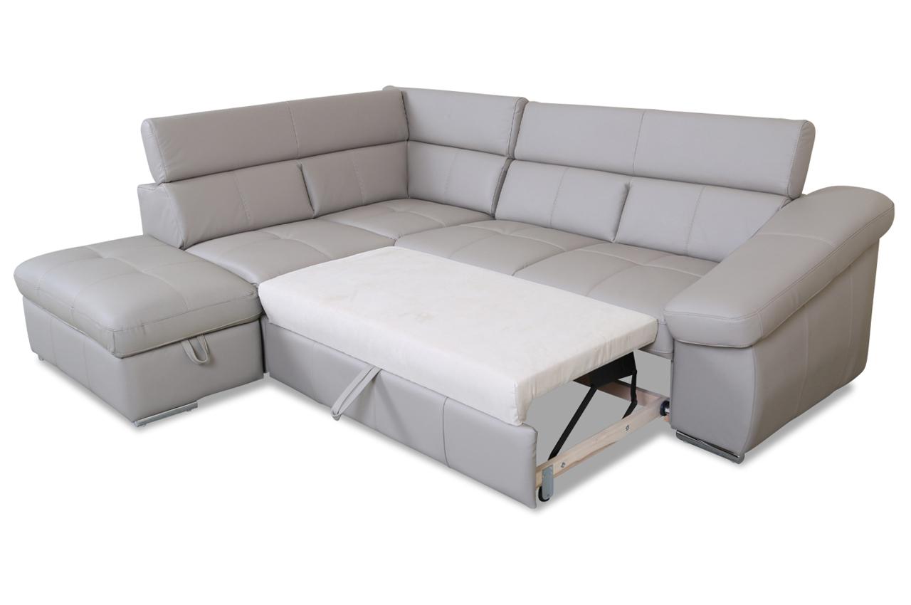 cotta leder ecksofa xl bravo mit schlaffunktion braun sofas zum halben preis. Black Bedroom Furniture Sets. Home Design Ideas