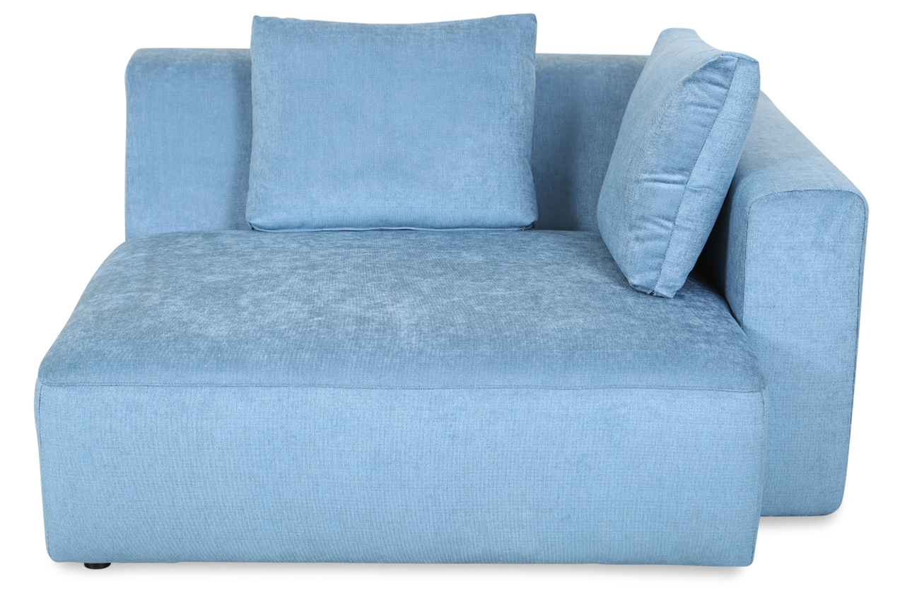 Furninova bigsessel xxl box alfa blau sofa couch for Xxl sessel blau