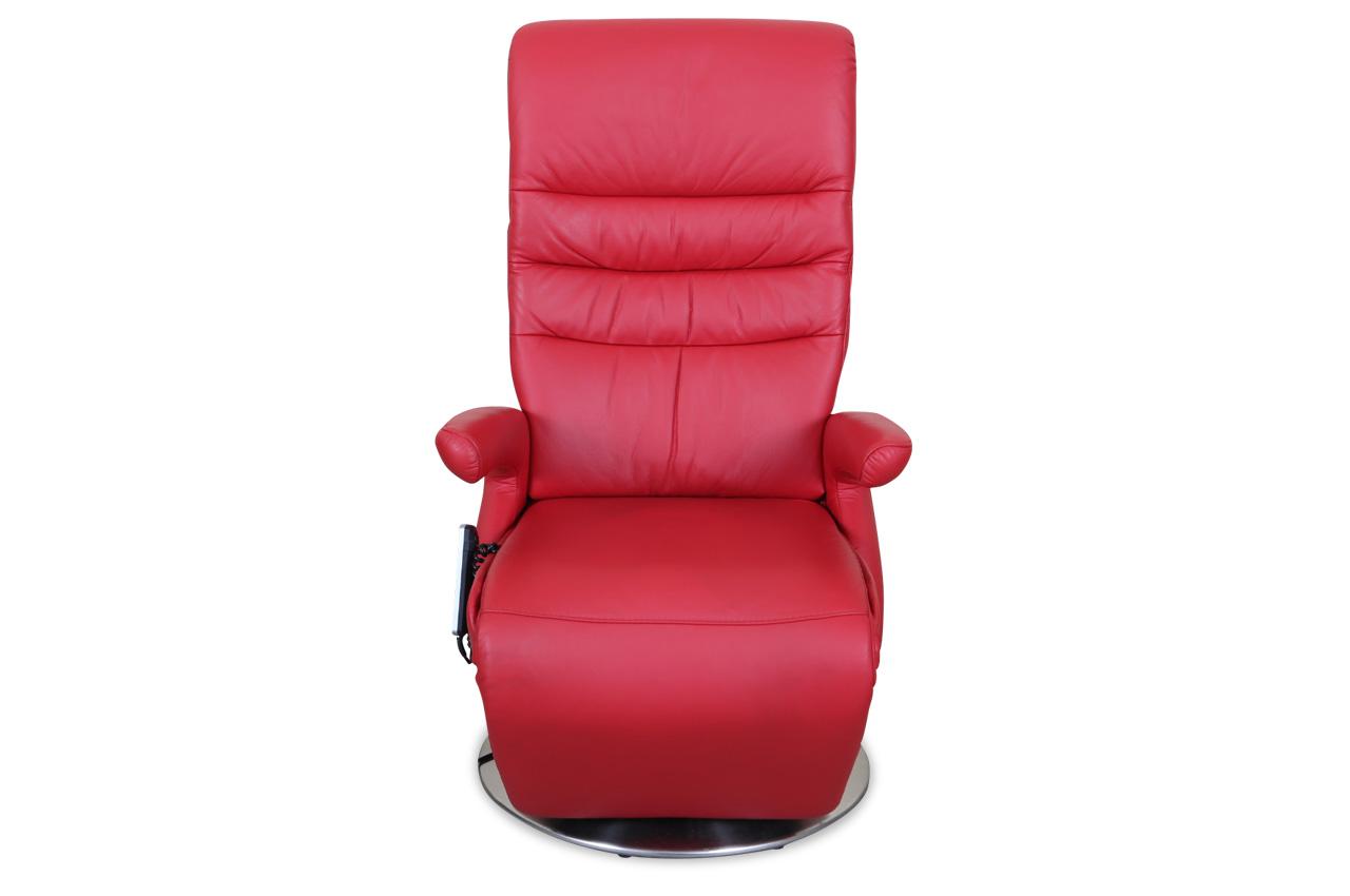 leder fernsehsessel mit relax rot sofas zum halben preis. Black Bedroom Furniture Sets. Home Design Ideas