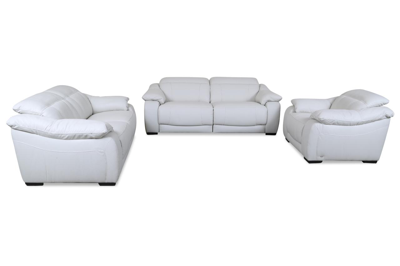 Couchgarnitur 3 2 1 Leder
