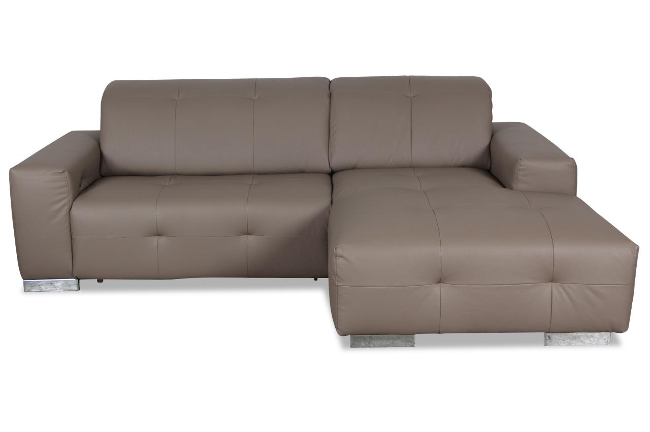 cotta ecksofa francisco mit relax grau sofas zum halben preis. Black Bedroom Furniture Sets. Home Design Ideas