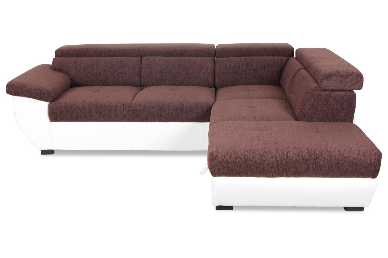 cotta ecksofa xl speedway mit schlaffunktion weiss sofas zum halben preis. Black Bedroom Furniture Sets. Home Design Ideas