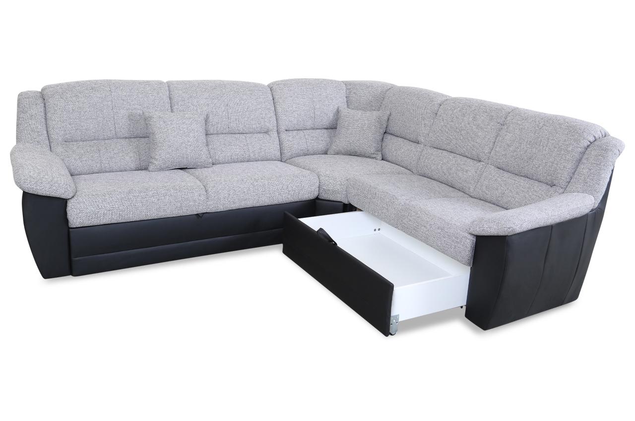 rundecke selva mit schlaffunktion grau sofas zum halben preis. Black Bedroom Furniture Sets. Home Design Ideas