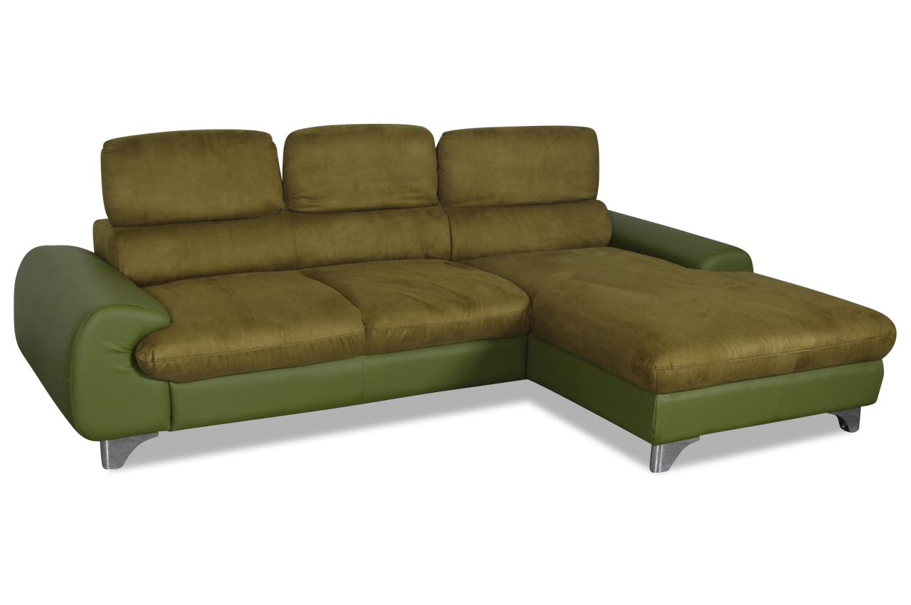 cotta ecksofa june gruen sofa couch ecksofa ebay. Black Bedroom Furniture Sets. Home Design Ideas