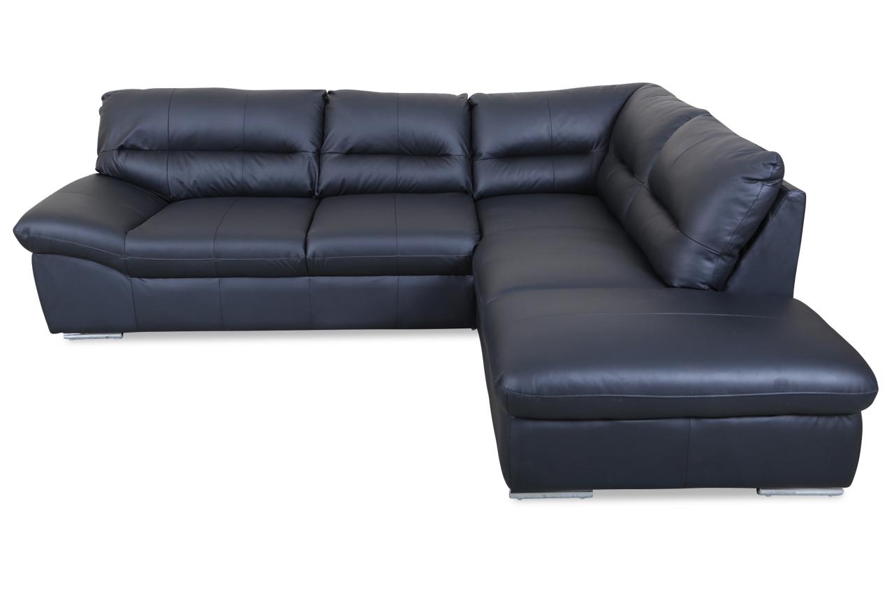 cotta leder ecksofa xl william schwarz sofas zum. Black Bedroom Furniture Sets. Home Design Ideas