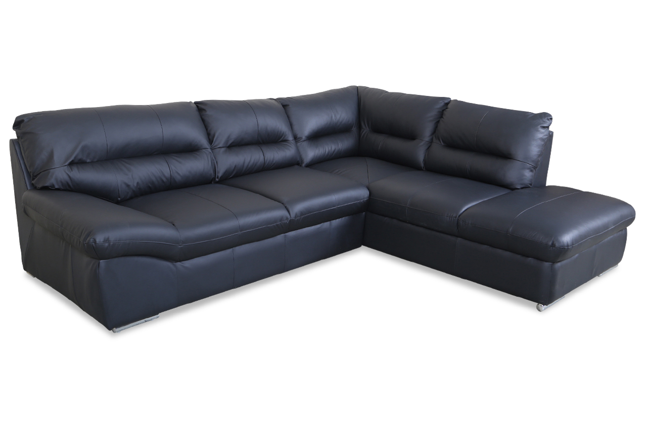 cotta leder ecksofa xl william schwarz sofas zum. Black Bedroom Furniture Sets. Home Design Ideas
