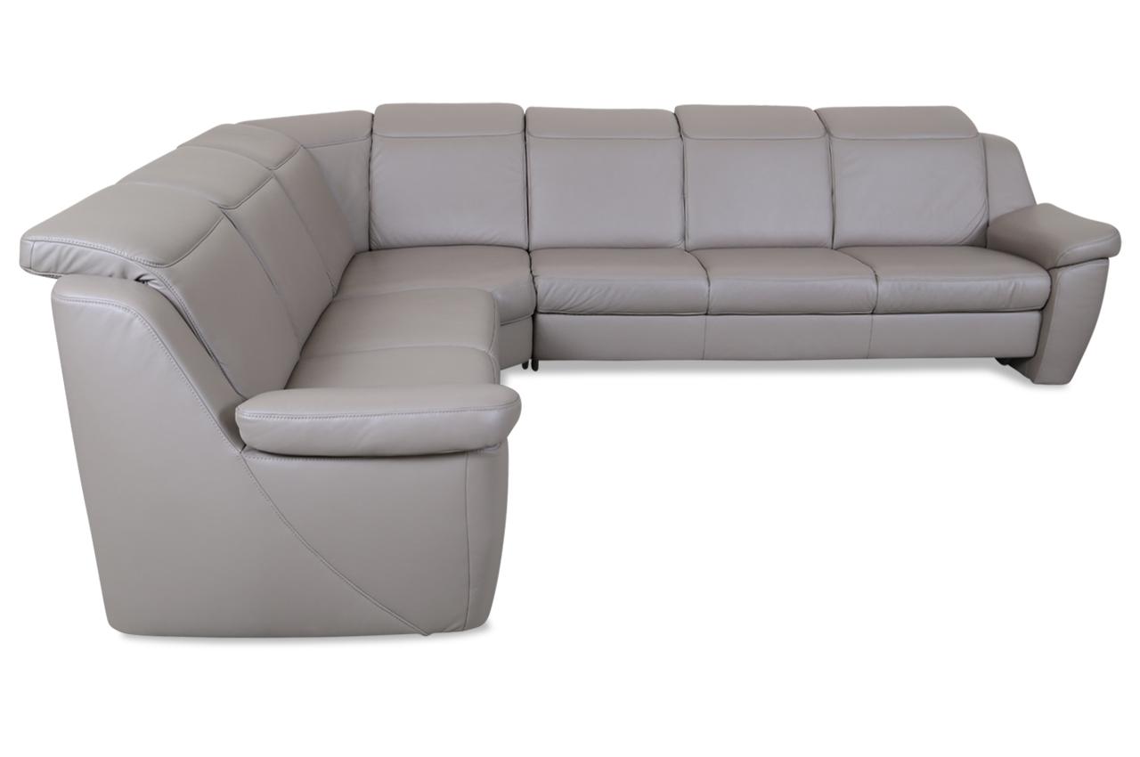 leder rundecke mit sitzverstellung braun sofas zum halben preis. Black Bedroom Furniture Sets. Home Design Ideas