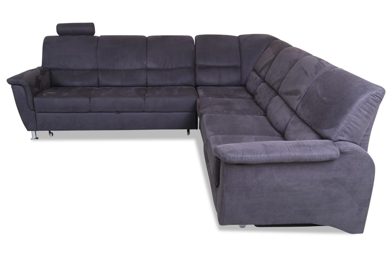 rundecke pisa mit relax und schlaffunktion grau. Black Bedroom Furniture Sets. Home Design Ideas