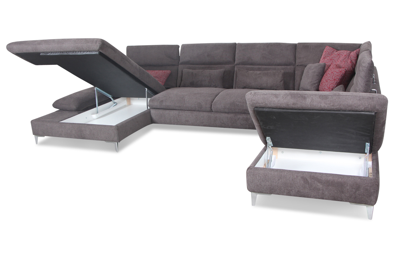 Relax sessel mit schlaffunktion sessel relax sessel mit for Wohnlandschaft orion