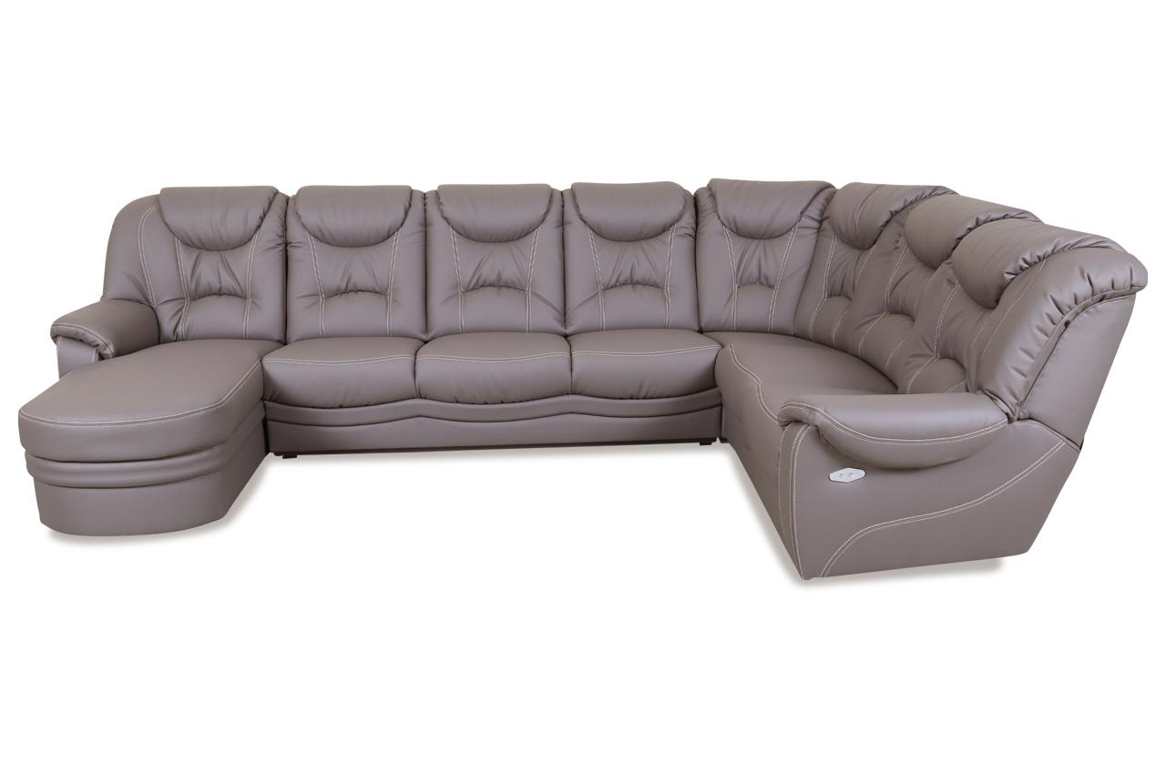 wohnlandschaft marcel mit relax grau sofas zum. Black Bedroom Furniture Sets. Home Design Ideas