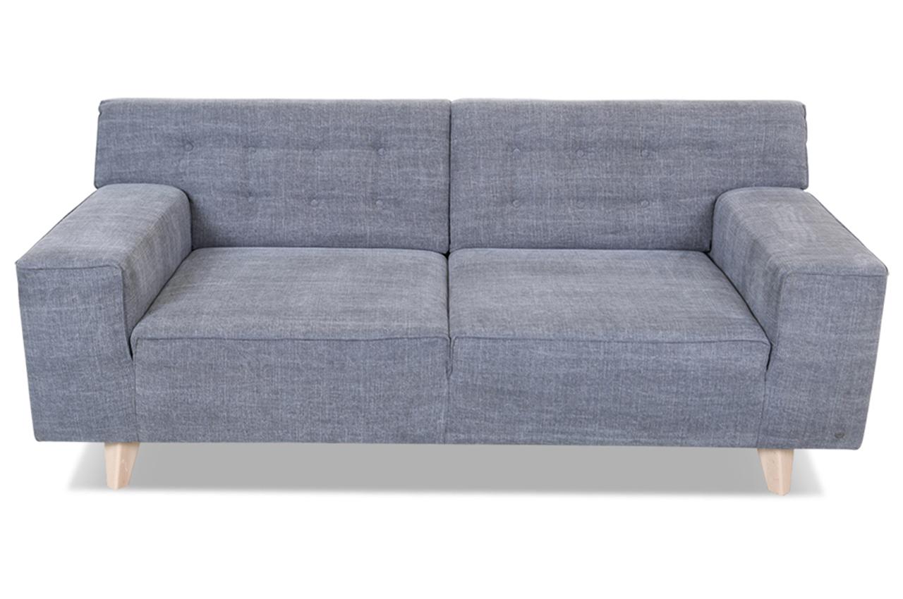 tom tailor 2er sofa nordic pure grau sofas zum halben. Black Bedroom Furniture Sets. Home Design Ideas
