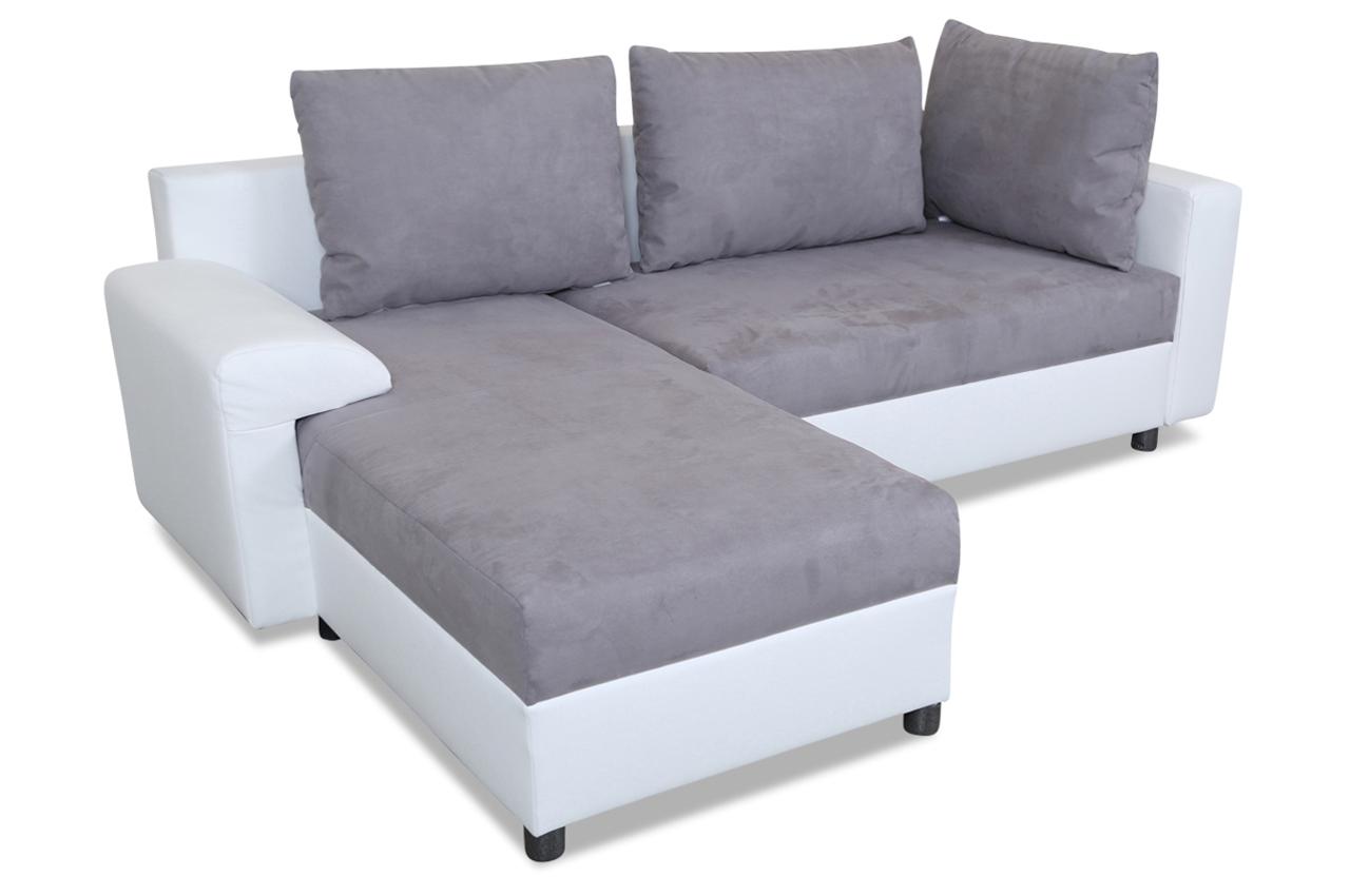 Ecksofa mit schlaffunktion grau sofas zum halben preis for Ecksofa caro