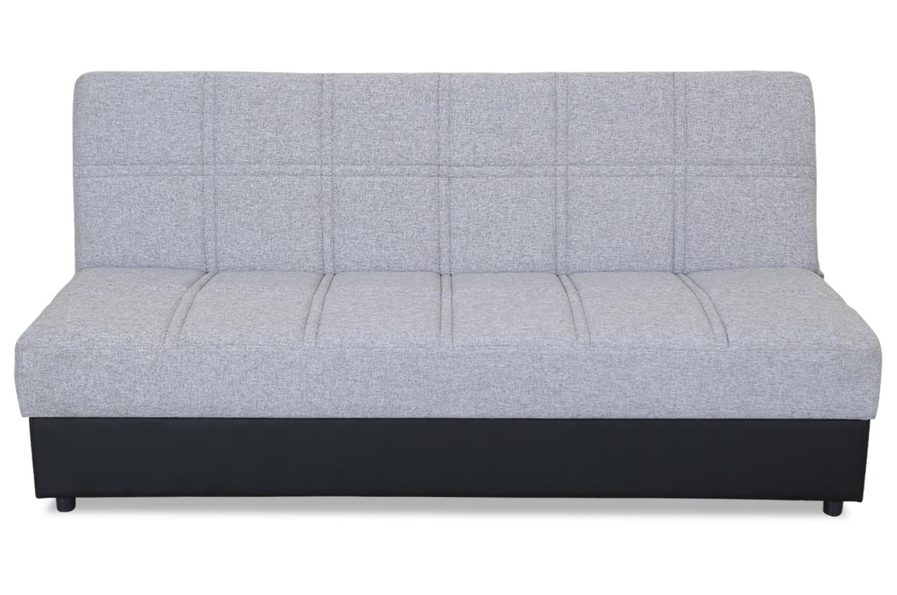 Furntrade 3er Sofa Boston Mit Schlaffunktion Grau Sofas Zum Halben Preis