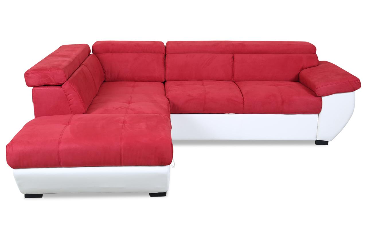 cotta ecksofa xl speedway mit schlaffunktion rot sofas zum halben preis. Black Bedroom Furniture Sets. Home Design Ideas