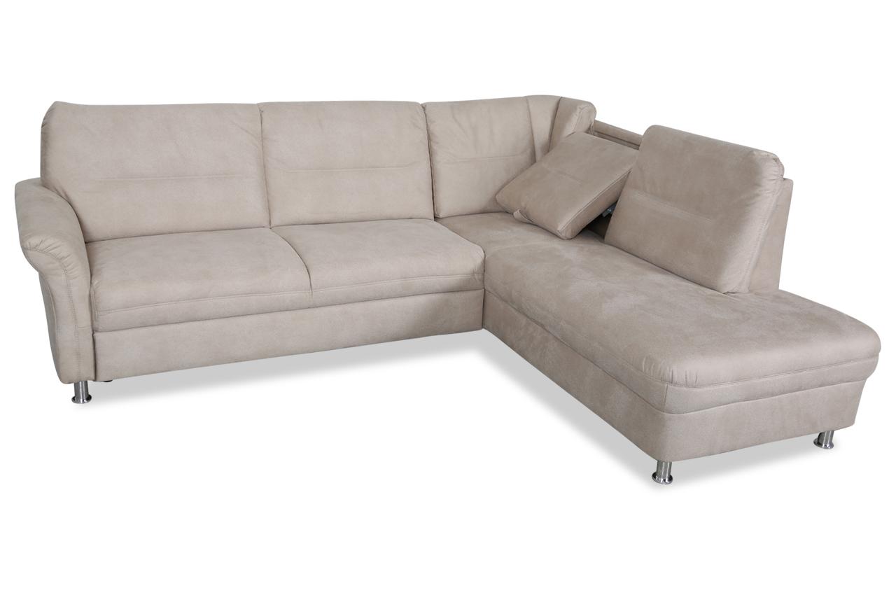 ada alina ecksofa xl wien mit relax und schlaffunktion creme sofas zum halben preis. Black Bedroom Furniture Sets. Home Design Ideas
