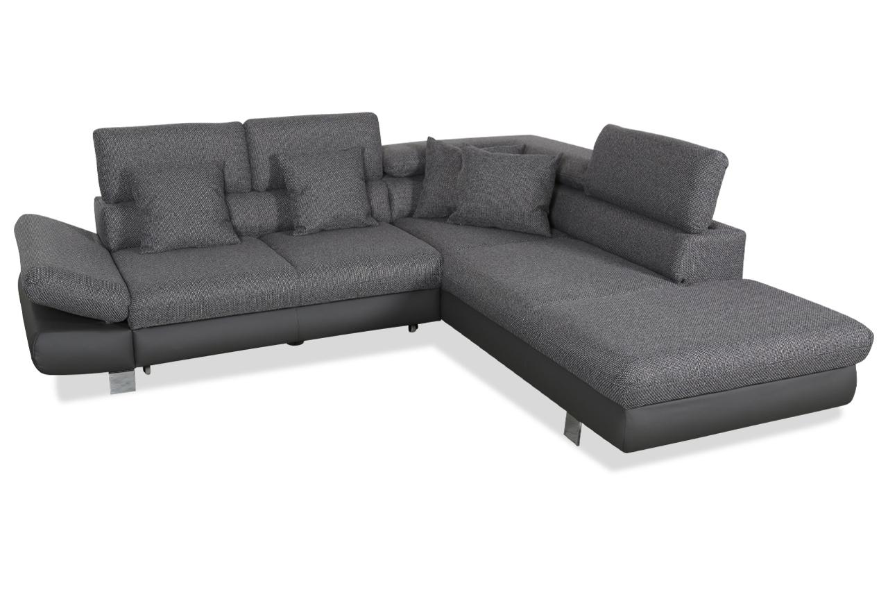 ecksofa xl mit schlaffunktion anthrazit sofas zum. Black Bedroom Furniture Sets. Home Design Ideas
