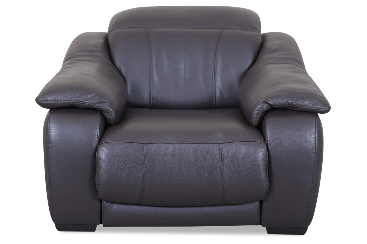 Editions leder fernsehsessel u076 braun sofas zum for Fernsehsessel braun