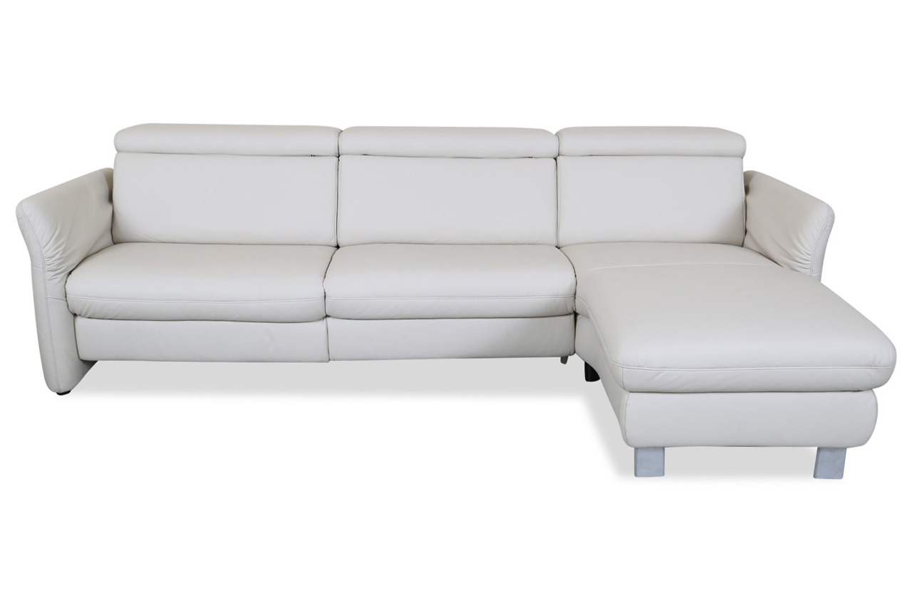Leder ecksofa creme sofas zum halben preis for Ecksofa 2 00