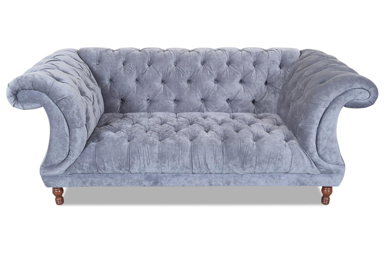 max winzer 2er sofa isabelle grau sofas zum halben preis. Black Bedroom Furniture Sets. Home Design Ideas