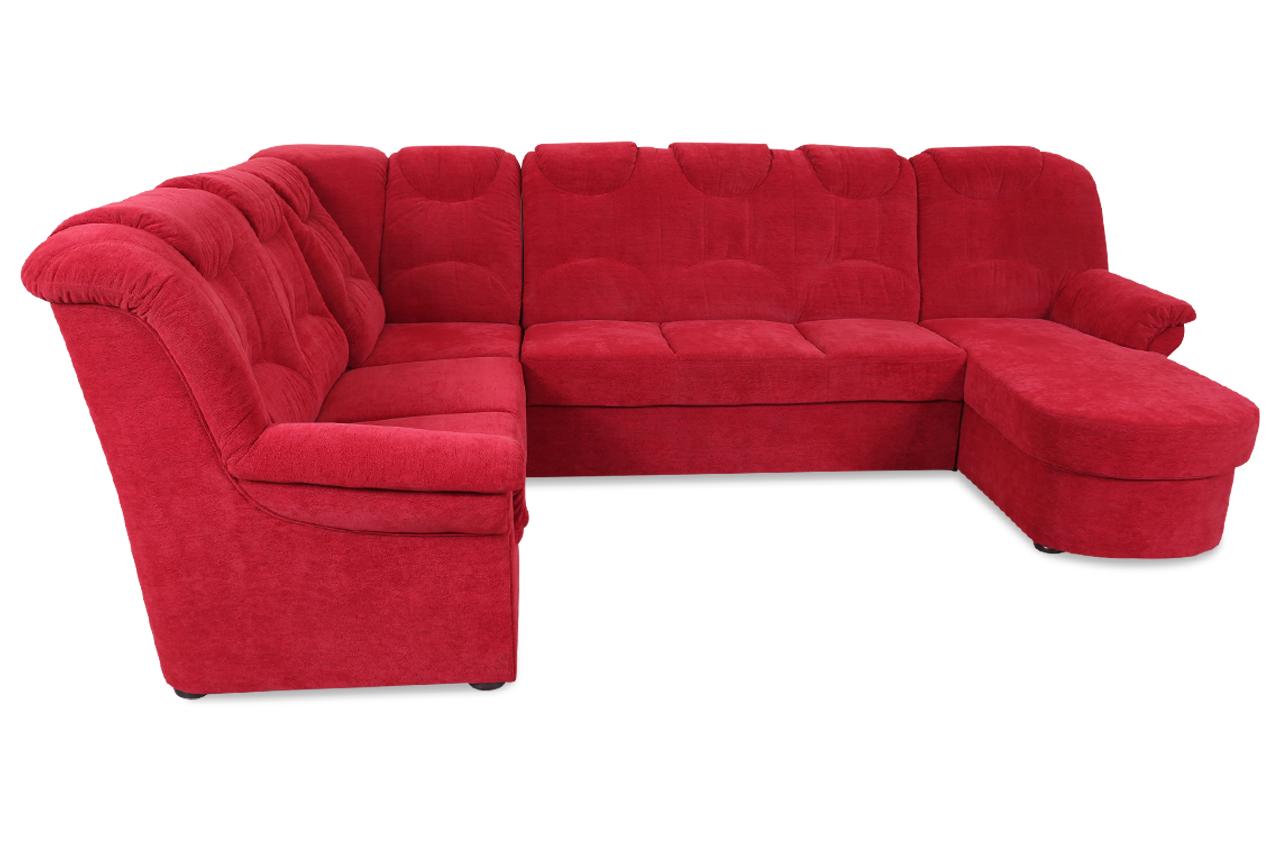 wohnlandschaft linus mit relax rot sofas zum halben preis. Black Bedroom Furniture Sets. Home Design Ideas