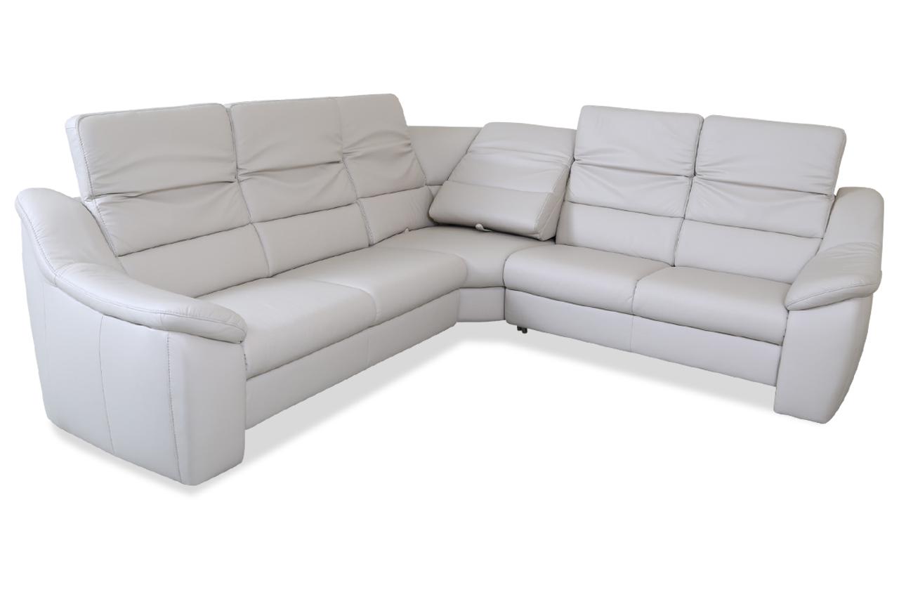 leder rundecke mit relax creme sofas zum halben preis. Black Bedroom Furniture Sets. Home Design Ideas