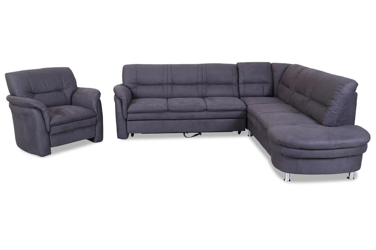 rundecke mit sessel mit relax und schlaffunktion. Black Bedroom Furniture Sets. Home Design Ideas
