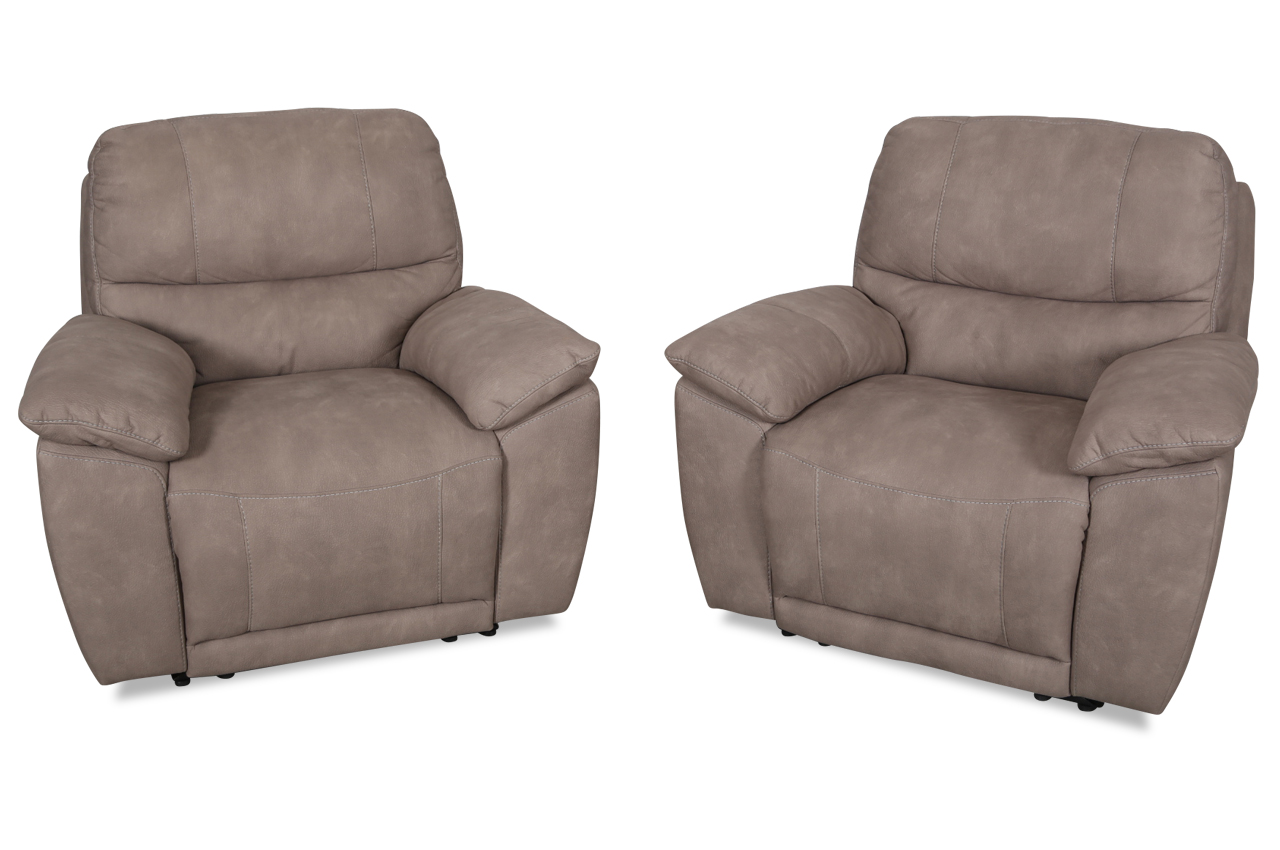 furntrade sessel u181 mit sessel mit relax grau mit. Black Bedroom Furniture Sets. Home Design Ideas