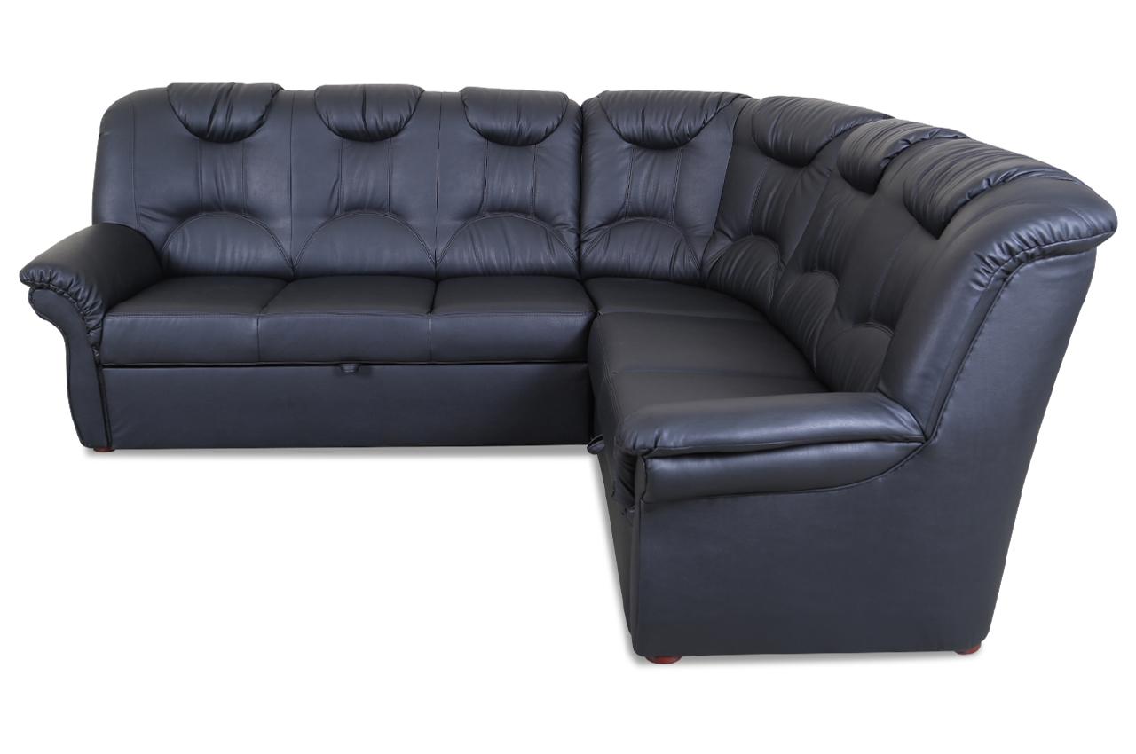 rundecke linus mit schlaffunktion schwarz sofas zum halben preis. Black Bedroom Furniture Sets. Home Design Ideas